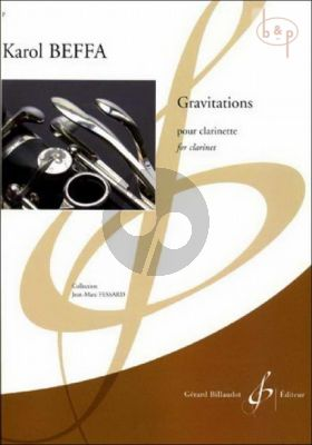 Gravitations for Clarinet Solo