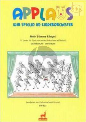 Mein Stimme Klinge! (11 Lieder fur Str.Orch.) (Holzblaser ad lib.) (Score)