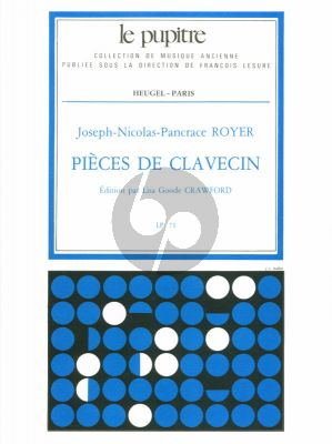 Royer Pieces de Clavecin (Lisa Goode Crawford) (Le Pupitre)
