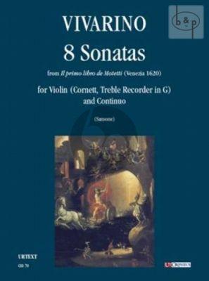 8 Sonatas (from Il Primo Libro de Motetti [Venezia 1620])