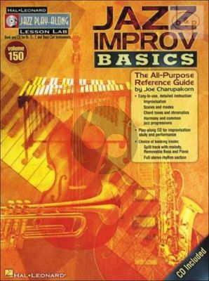 Improvisation Basics (Jazz Play-Along Series Vol.150)