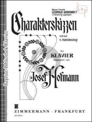 Charakterskizzen Op.40 No.4 Kaleidoskop