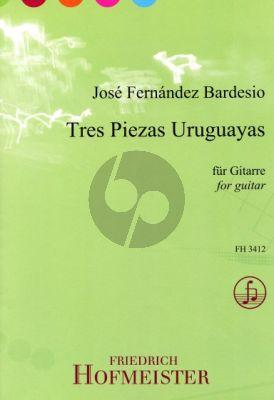 Bardesio 3 Piezas Uruguayas Gitarre