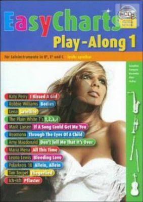 Easy Charts Play-Along Vol.1 (all C.-Bb-Eb. Instr.) (Bk-Cd)