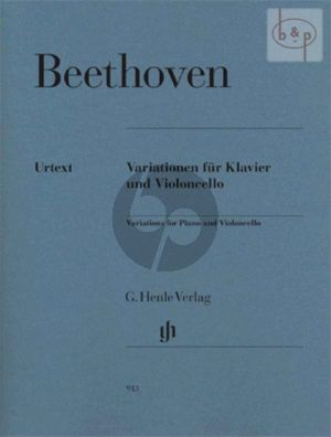 Variationen (WoO.45 -Op.66 -WoO.46) (edited by Jens Dufner)