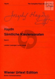 Samtliche Sonaten Vol.3