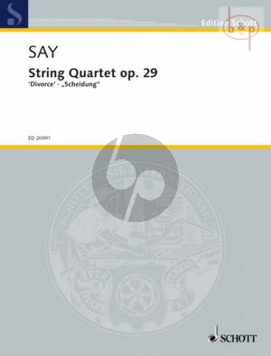 "Quartet Op.29 ""Divorce"""