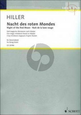 Nacht des roten Mondes (5 Magic Miniatures after Alistair) (2 Vi.1 - 2 - 2 Va.- 2 Vc.)