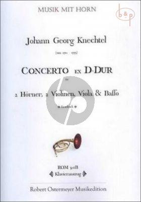 Concerto Ex D-major (2 Horns- 2 Vi.-Va.-Basso)
