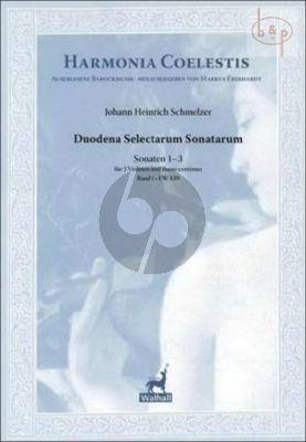 Duodena Selectarum Sonatarum (1659) Vol.1 (Sonaten 1 - 3)