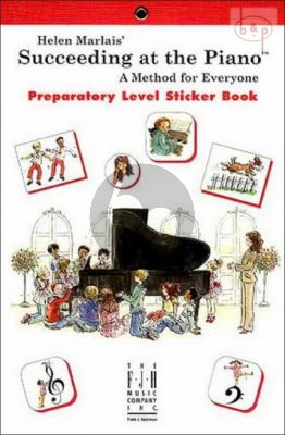 Succeeding at the Piano Sticker Book Preparatory Level
