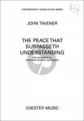 The Peace that Surpasseth Understanding