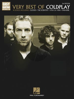 Very Best of Coldplay Easy Guitar (notes & tabs)