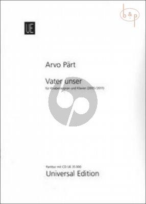 Part Vater Unser (Knabensopr.) ((2005/2011) (incl.CD)