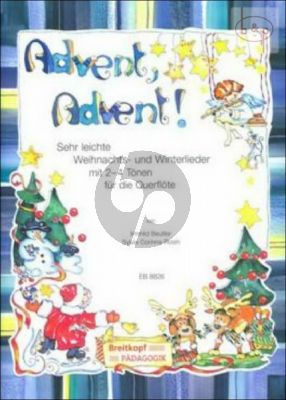 Advent Advent! (1 or 2 Flutes with Piano or Guitar)