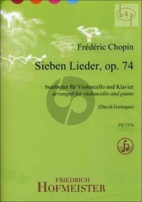7 Lieder Op.74
