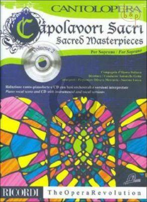 Capolavori Sacri - Sacred Masterpieces Vol.2 (Soprano Voice-Piano)