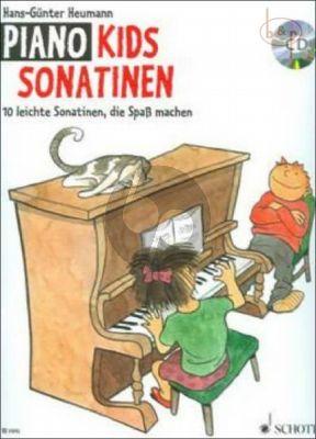 Piano Kids Sonatinen (10 leichte Sonatinen, die Spass machen) Klavier