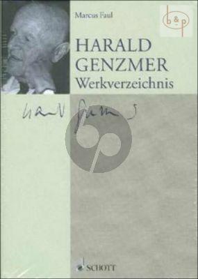 Harald Genzmer (1909 - 2007) Werkverzeichnis (Hardcover)