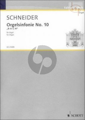 Orgelsinfonie No.10 B-A-C-H