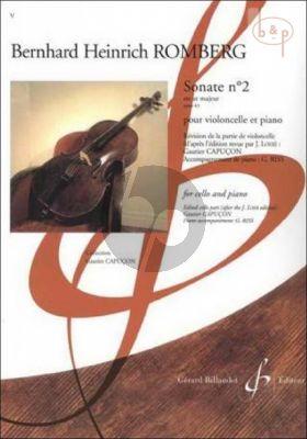 Sonate Op.43 No.2 C-major Violoncello-Piano