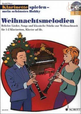Klarinette Spielen mein schonstes Hobby: Weihnachtsmelodien
