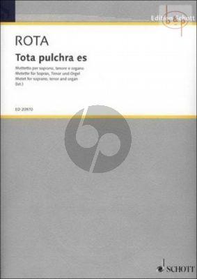 Tota pulchra es (Motetto)