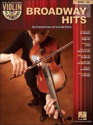 Broadway Hits Violin