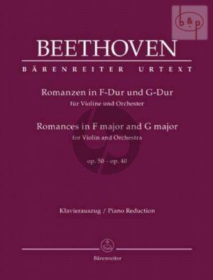 2 Romances Op.40 F-major and Op.50 G-major