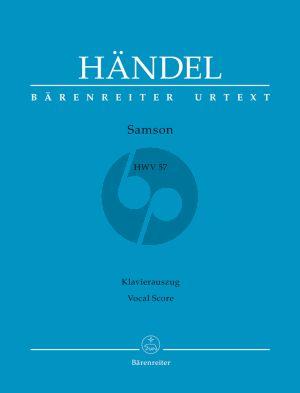Handel Samson HWV 57 Vocal Score (engl.) (Hans Dieter Clausen) (Barenreiter-Urtext)