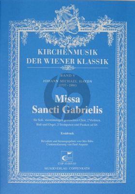 Haydn J.M. Missa sancti Gabrielis Soli SATB, Coro SATB