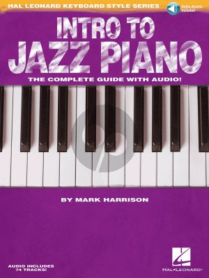 Harrison Intro to Jazz Piano (Book with Audio online)