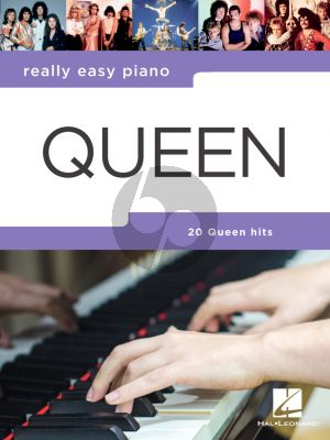 Really Easy Piano Queen (incl. Lyrics)