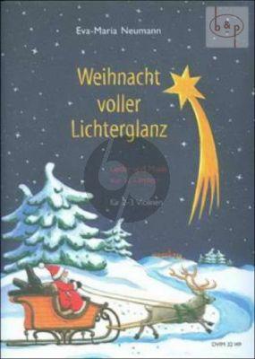 Weihnacht voller Lichterglanz (Lieder und Musik aus 12 Landern) (2 - 3 Violins)