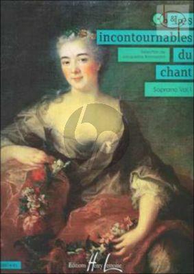 Les Incontournables du Chant Vol.1 (Soprano)