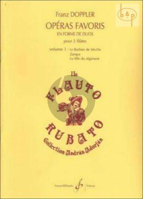 Operas Favoris en Forme de Duos Vol.1 (Score/Parts) (interm.level)