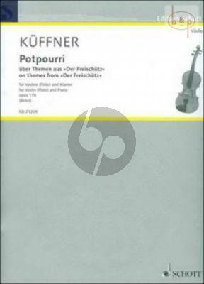 Potpourri uber Themen aus der Freischutz Op.118