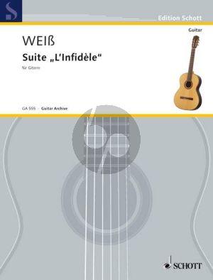 "Weiss Suite ""L'Infidele"" Guitar (Londoner Manuskript No.23) (edited by Ansgar Krause)"