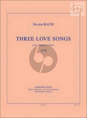 3 Love Songs Op.96