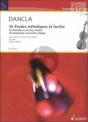 36 Etudes Melodiques et Faciles Op.84 Violin