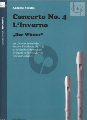 Concerto Op.8 No.4 (RV 297) (L'Inverno) (from 4 Seasons)