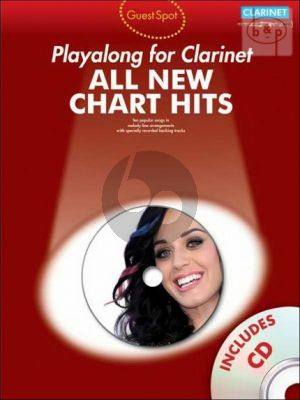 Guest Spot All New Chart Hits Play-Along for Clarinet