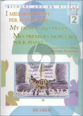 Meine ersten Klavierstücke (My First Piano Pieces) Vol.2