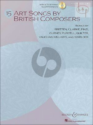 15 Art Songs by British Composers (High Voice)