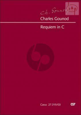 Requiem C-major Op.Posth.(SATB soli-SATB-Orch.) (Vocal Score) (lat.)