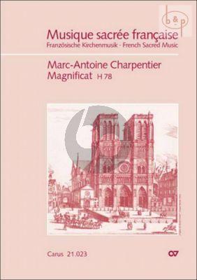 Magnificat H.78 G-major (SATTB- 2 Fl.- 2 Vi.-Va.- Bc)