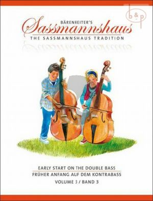 Fruher Anfang auf dem Kontrabass - Early Start on the Double Bass Vol.3