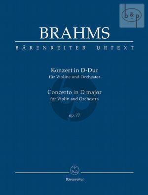Concerto D-major Op.77 (Violin-Orch.) (Study Score)