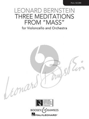 3 Meditations from Mass for Cello and Orchestra