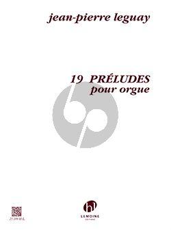 Leguay 19 Preludes Orgue
